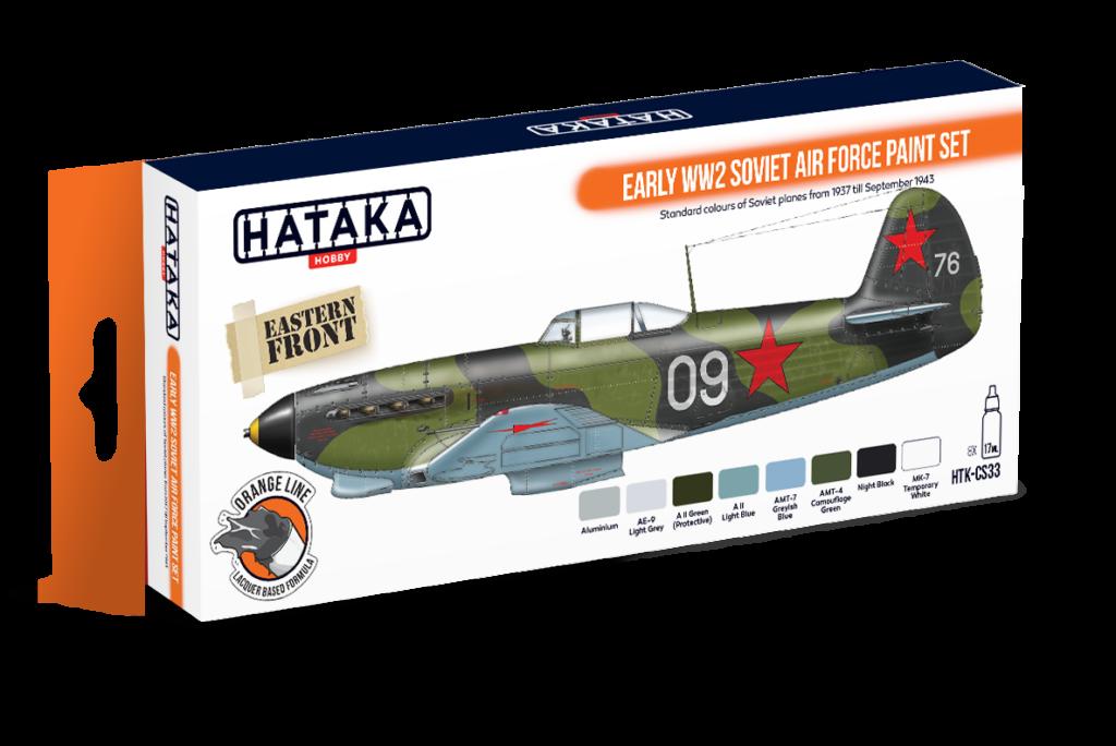 kolory sowieckiego lotnictwa 1941-1943